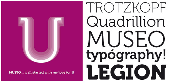 Museo Typeface